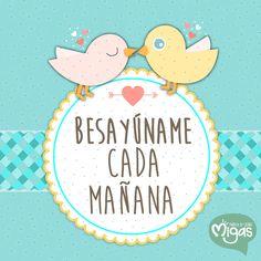 Despertar a tu lado. #Día #Despertar #Beso #Amor #Amanecer #MigasTienda #M http://bit.ly/1AIGxtt