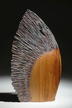 "Christophe Nancey ~ ""Le Vent"" ~ Wood Sculpture"