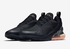 The Nike Air Max 270 Camo Heel (Style Code  comes dressed in Black 861045658e