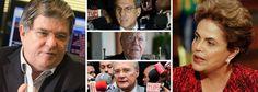 """Responsável pelas gravações de José Sarney, Romero Jucá e Renan Calheiros, o ex-presidente da Transpetro, Sérgio Machado, indica por que a presidente Dilma Rousseff foi alvo de um processo de impeachment; """"tá todo mundo se cagando presidente"""", disse ele a Sarney; """"o erro dela foi deixar essa coisa andar"""", afirmou, numa referência à Lava Jato; áudios captados por Machado já derrubaram Jucá, que afirmou que era preciso trocar o governo, colocando Michel Temer no poder, para """"parar essa porra""""…"""