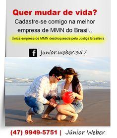 Quer mudar de vida? Cadastre-se comigo na melhor empresa de MMN do Brasil.. A única desbloqueada pela justiça.. (47) 9949-5751 Manoel Ribeiro  61