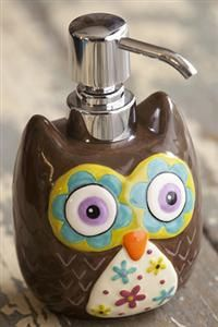#Owl Soap Dispenser - So kids will actually WANT to wash their hands!