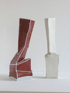 Johannes Nagel | Construction Red and Vessel | 2010 2011, OLYMPUS DIGITAL CAMERA http://www.galleryfumi.com/Works/Vases-and-Vessels/