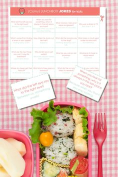 DAY 10: {FREE PRINTABLE} Corny Lunchbox Jokes - Clean Eating with kids Corny Jokes For Kids, Dinner Planner, Real Food Recipes, Healthy Recipes, Green Veggies, Clean Eating Snacks, Free Printables, Lunch Box, Decluttering