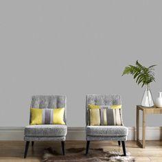 Aaron Gray Wallpaper - Designer Gray Wall Coverings by Graham Brown Grey Wallpaper Designs, Plain Wallpaper, Silver Wallpaper, Embossed Wallpaper, Striped Wallpaper, Home Wallpaper, Wallpaper Roll, Luxury Wallpaper, Designer Wallpaper