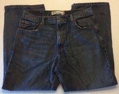 Mens Levis 569 Loose Straight Fit Jeans Size 34 X 30 #Levis #LooseStraight
