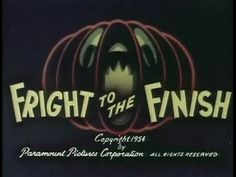Popeye : Fright To The Finish (1954)