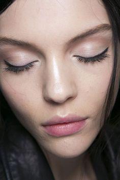 Subtle fresh makeup