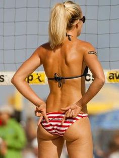 Jenelle Koester one of the best professional beach volleyball players
