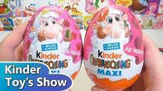 Смотреть онлайн видео Киндер МАКСИ Полли Покет, Киндер Сюрприз весна 2015 для девочек (Kinder Surprise Polly Pocket)