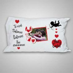 Almohadas, Personalizadas, Enamorados, San Valentín - S/. 30,00 en MercadoLibre