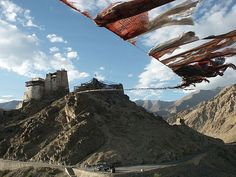 Prayer flags,Leh, Ladakh, India.- Wikipedia, the free encyclopedia