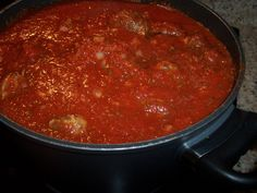 Italian Sunday Gravy -WITH Braciole! this recipe is the real deal ;)