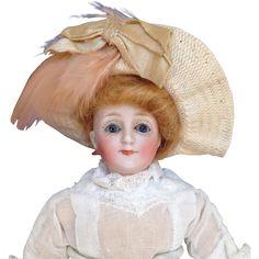 Kestner Gibson Girl. from bisquebeauties on Ruby Lane