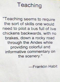 Click the link for some teaching humor. Teacher Humour, My Teacher, Teacher Stuff, Math Humor, Teacher Shirts, Teaching Memes, Teaching Tips, Teaching Strategies, Teaching Kindergarten
