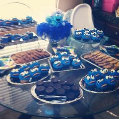 Cookie Monster Theme · Cookie Monster PartyBaby ShowersParty ...