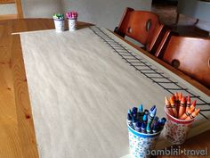 Drawing Prompt: Train Tracks *love the simplicity.