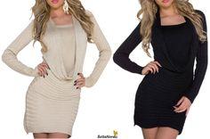 ❤❤ WINTER  NEWS ❤ ❤ Vi har fået masser af nye varer i shoppen  Hvad synes du om vores nye smukke strikkjole? ❤ Pris kun 379,- Se den her: Sort: http://bellanordic.dk/product/kjole-461/ Cream: http://bellanordic.dk/product/kjole-462/
