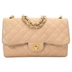 bbc2afa4fd1f Brand New Chanel Nude Caviar Jumbo Double Flap Bag  chaneldoubleflap ...