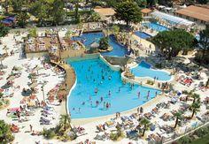 Camping Francia Landes : Le plus grand parc aquatique à thèmes des campings français!! Tempéré à environ 25°C