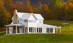1000 images about modern farmhouse cottage design on for Vermont farmhouse plans