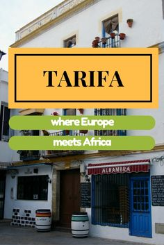 Tarifa, southern Spain: the place where Europe ends and Africa begins! Cadiz, The Places Youll Go, Places To Go, Balearic Islands, Spain And Portugal, Moorish, Spain Travel, Malaga, Trip Planning