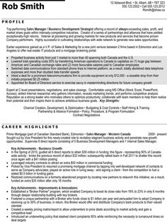 regional sales manager professional resume sample - Professional Resume Outline