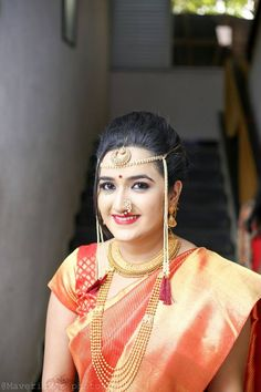 I love natural beauty, and I think it's your best look, but I think makeup as an artist is so transformative.Classical Marathi Bride  Bridal Make up Done by Christine Valmy Pune