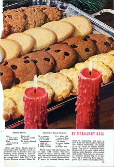 §§§ : mid-century christmas cookies