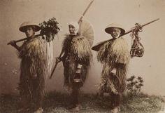 Title: Farmers Wearing Rain-Coats  Artist: Kusakabe Kimbei  Artist Bio: Japanese, 1841 - 1934  Creation Date: c. 1890s