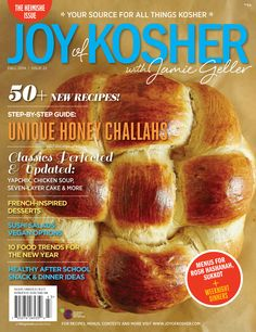 Fall 2014 Joy of Kosher Magazine Sneak Peek