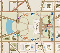 See A Map And Directions To The US Capitol Building To The As - Minecraft us capitol map