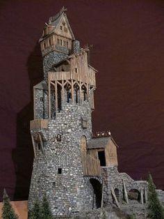 Resultado de imagem para Ruined tower