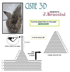 3d origami instructions - Google Search