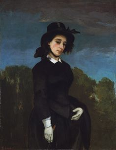 EPPH | Courbet's Woman in a Riding Habit or The Amazon (1856)