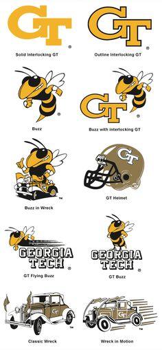 Georgia Tech logos