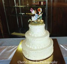 Christopher~&~Elizabeth~Wedding - wedding cake from Whole Foods Market!
