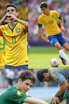 """Oscar Dos Santos Emboaba Júnior  Ok *__* I'll just say """"Vamos Brazil!!"""""""