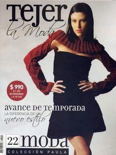 Tejidos realizados con amor para ti ...: Revista Tejer la Moda 22