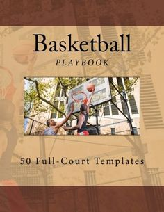 Use this book for designing your basketball team's plays. There are 50 full-court templates that you can fill in with your plays. Use this playbook to help your team be even more prepared for upcoming games. Basketball Books, College Basketball, The Fosters, The 100, Templates, Baseball Cards, Nba, October, Amazon