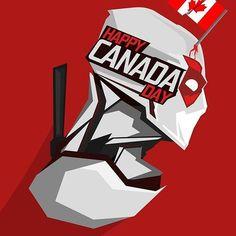 Marvel Comics: Deadpool - Happy Canada Day