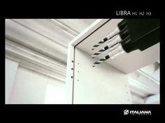 LIBRA H1, H2, H3 Cabinet Hangers - Italiana Ferramenta
