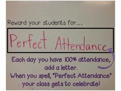 Attendance Motivation- This PBIS attendance reinforcer is originally meant for a class, but it also could be great for a student who is always tardy and/or misses the first period of the day. This could even be used to increase staff attendance. Attendance Incentives, Attendance Tracker, Attendance Ideas, School Attendance, Attendance Board, Attendance Display, New School Year, Beginning Of School, Middle School