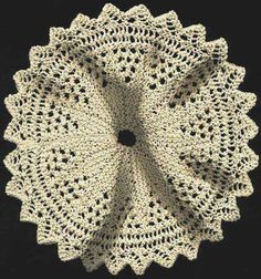 1000+ images about Knitted doilys on Pinterest Doilies ...
