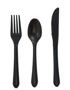 Luxurious Cutlery Design: Black Cutlery ~ lanewstalk.com Kitchen Ideas Inspiration
