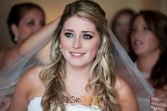 Soft Waves, Wedding Hair & Beauty Photos by Behind the Veil, LLC - Image 1 of 22 - WeddingWire