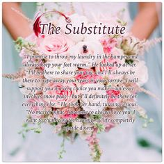 The Substitute by Denise Grover Swank  Releases: January 11, 2015: iBooks  January 21, 2015: Amazon, Kobo, Google Play, and B&N  The first book in The Wedding Pact, a humorous contemporary romance series, from New York Times and USA Today bestselling author, Denise Grover Swank.