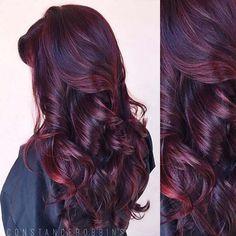 Fabulous Burgundy hair color idea you should not miss