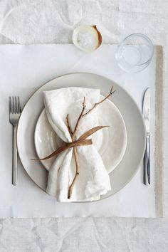 Linen napkins - Set of 6 napkins - Tablecloth napkins - kitchen napkins - Ivory/ white napkins - r&b meal - Dekoration
