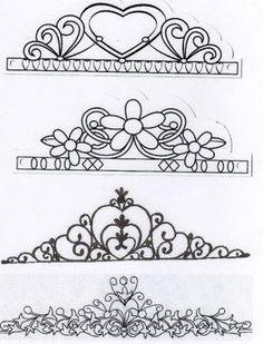 """[PATROON] tiara's (Pagina 1) - Sjablonen, Patronen & Howto's - Het """"DeLeuksteTaarten"""" - forum"""